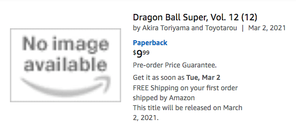 Viz Dbs Manga Vol 12 Amazon