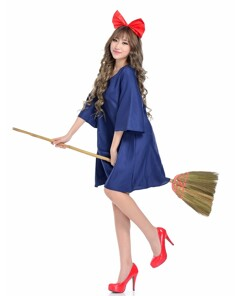 Cute Girls Kiki Cosplay Women Fancy Dress