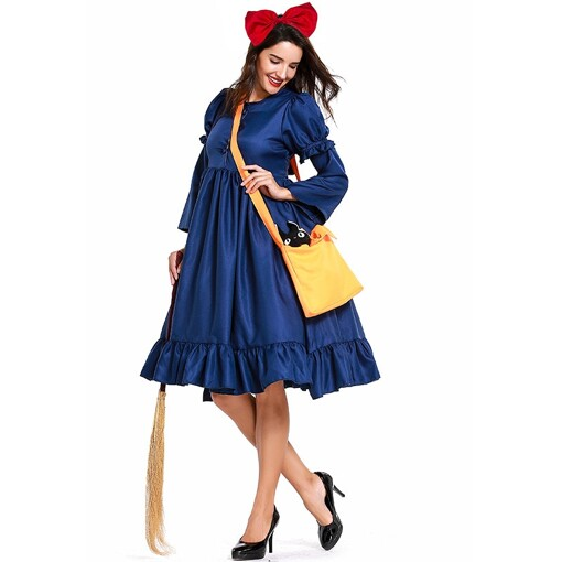New Adult Anime KiKis Delivery Service Dressjpg