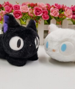 New 2pcs Jiji Black Cat