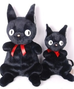45-65cm Kikis Delivery Service Jiji Cat Plush