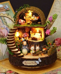 DIY Cottages Music Box My Neighbor Totoro