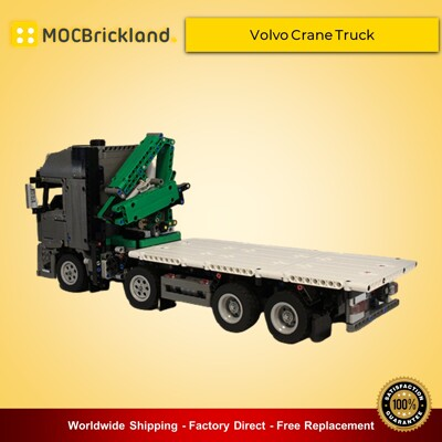 Technic MOC-34643 Volvo Crane Truck By technicprojects MOCBRICKLAND