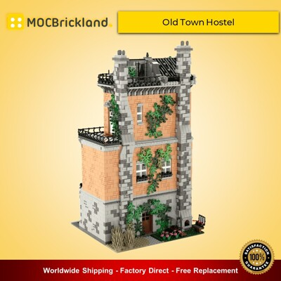 Modular Buildings MOC-46504 Old Town Hostel By STEBRICK MOCBRICKLAND