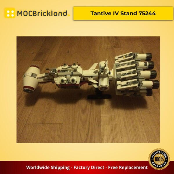 Star Wars MOC-37351 Tantive IV Stand 75244 by 6211 MOCBRICKLAND