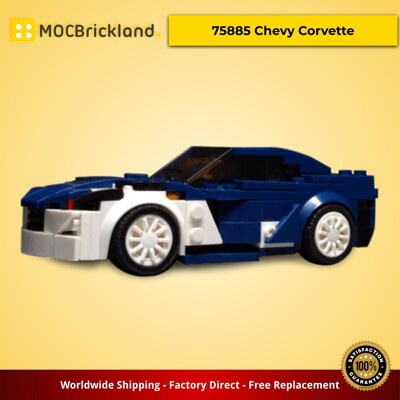 Creator MOC-13594 75885 Chevy Corvette by Turbo8702 MOCBRICKLAND
