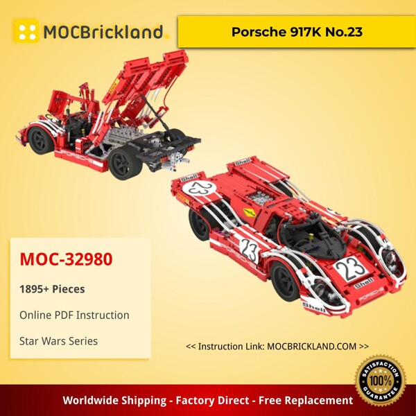 Technic MOC-0022 Concept Car by NKubate MOCBRICKLAND