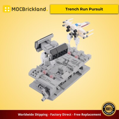 Star Wars MOC-38337 Trench Run Pursuit by JKBrickworks MOCBRICKLAND