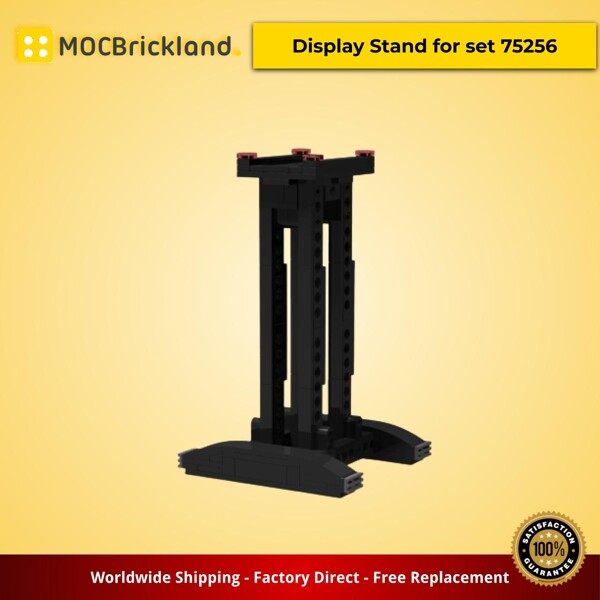Star Wars MOC-33719 Display Stand for set 75256 by Klockowy_pasjonat MOCBRICKLAND