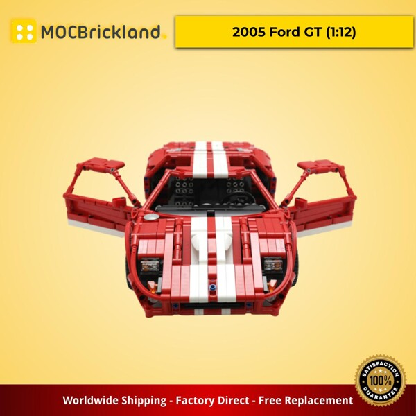 Technic MOC-11473 2005 Ford GT (1:12) by Artemy Zotov MOCBRICKLAND