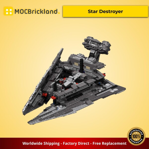 STAR WARS MOC 10636 Kylo Ren's Star Destroyer by Tpetya MOCBRICKLAND