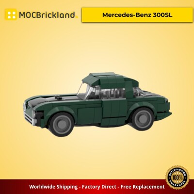 Creator MOC-15873 Mercedes-Benz 300SL by timeremembered MOCBRICKLAND