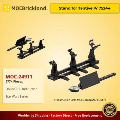Star Wars MOC-24911 Stand for Tantive IV 75244 by BrickBo MOCBRICKLAND