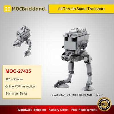 Star Wars MOC-27435 All Terrain Scout Transport MOCBRICKLAND