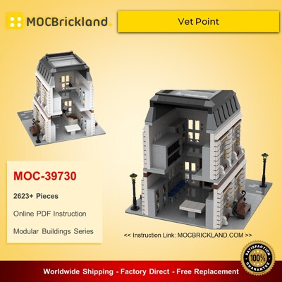 Modular Buildings MOC-39730 Vet Point By gabizon MOCBRICKLAND