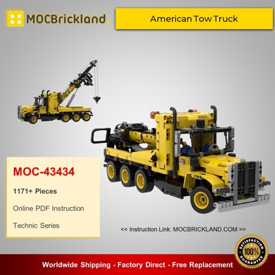 Technic MOC-43434 42108 American Tow Truck - Alternate Build By timtimgo MOCBRICKLAND