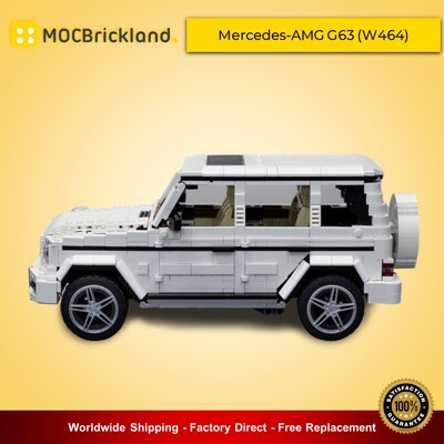 Technic MOC-44956 Mercedes-AMG G63 (W464) By noahl MOCBRICKLAND