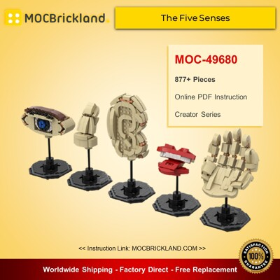 Creator MOC-49680 The Five Senses By gabizon MOCBRICKLAND