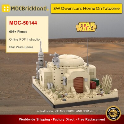Star Wars MOC-50144 SW Owen Lars' Home On Tatooine By MOCOPOLIS MOCBRICKLAND
