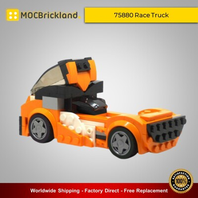 Creator MOC-9019 75880 Race Truck By PeterSzabo MOCBRICKLAND