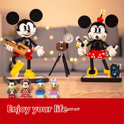 Movie LEJI 66009 Mickey and Minnie