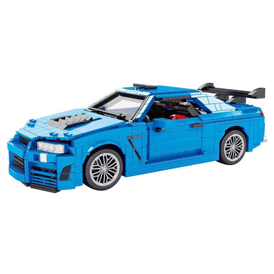 Technic SY 0002 Nissan R34 GT-R Super Car