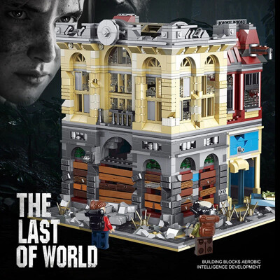 Modular Buildings 18K K126 The Bank In The Last Of The World