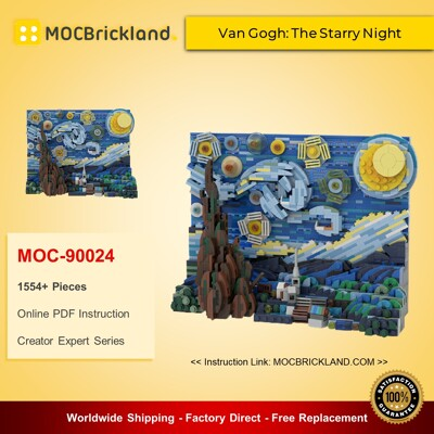 Creator Expert MOC-90024 Van Gogh: The Starry Night MOCBRICKLAND