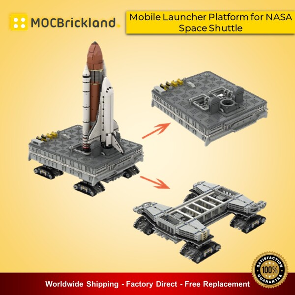 Space MOC-90028 Mobile Launcher Platform for NASA Space Shuttle MOCBRICKLAND