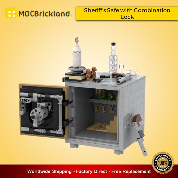 Creator MOC-90032 Sheriff's Safe with Combination Lock MOCBRICKLAND