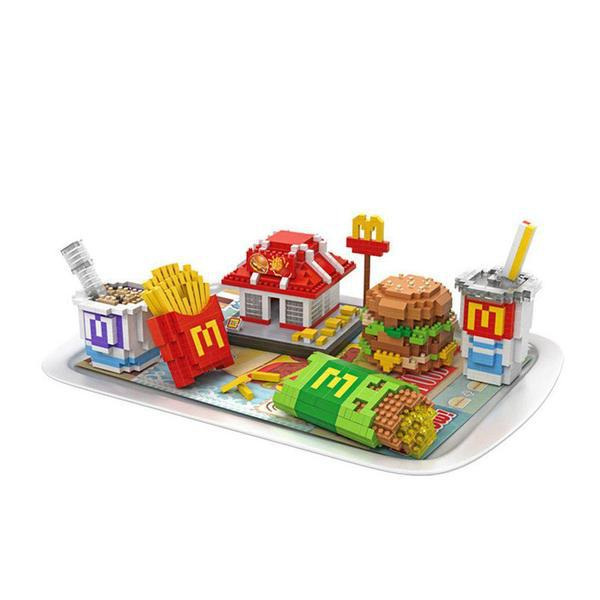 LOZ Fast Food Meal Set