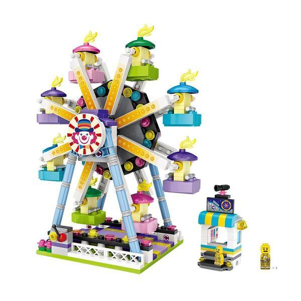 LOZ Amusement Park Ferris Wheel