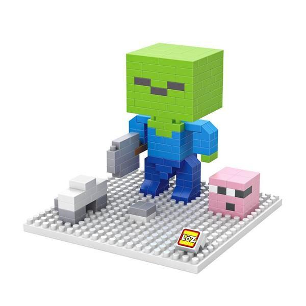 LOZ Minecraft Green Head