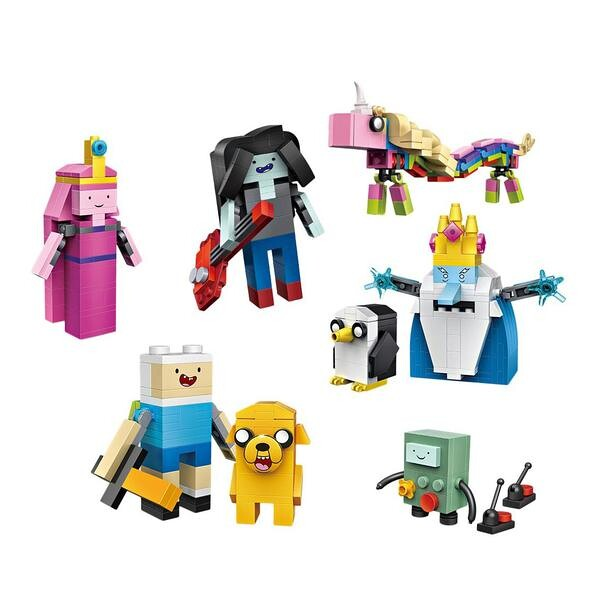 Cube Dudes Adventure Time x8