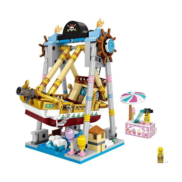 LOZ Amusement Park Pirate Ship