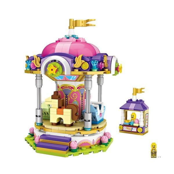 LOZ Amusement Park Carousel