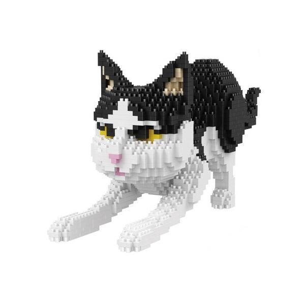 Balody White and Black Cat
