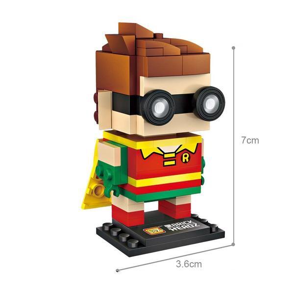LOZ Brickheadz Superhero Robin