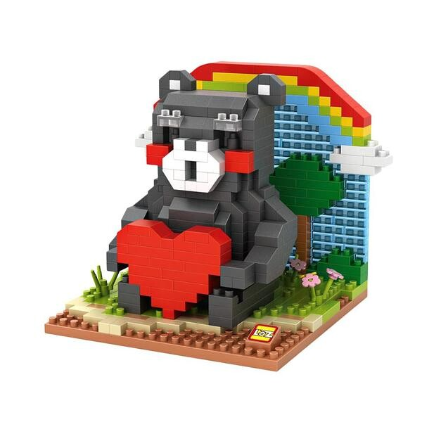 LOZ Kumamon Heart