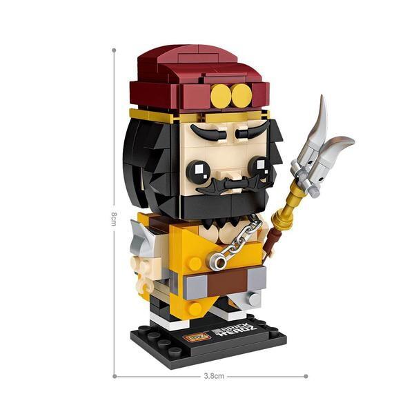 LOZ Brickheadz General Zhang Fei