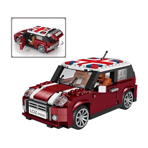 LOZ Cars British Mini Cooper