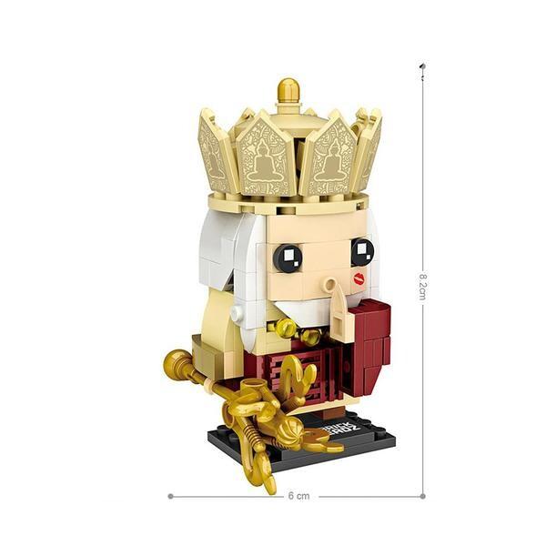 LOZ Brickheadz Journey to the West Master Gold