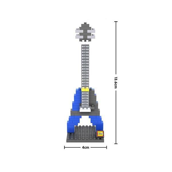 LOZ Electric Blue Guitar