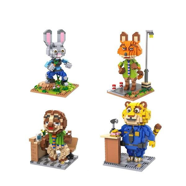 LOZ Zootopia Bundle