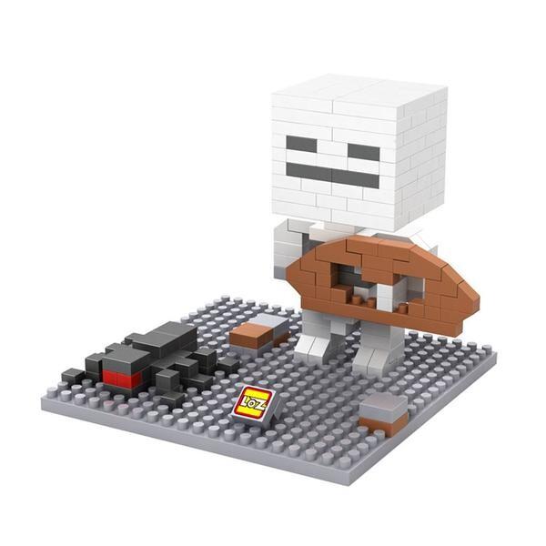 LOZ Minecraft White Head