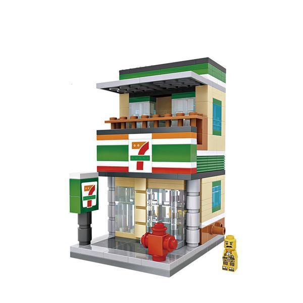 LOZ Mini Street 7-Eleven