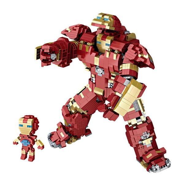 LOZ Giant Iron Man Superhero