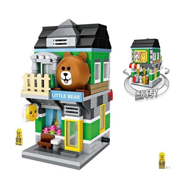 LOZ Mini Street Little Bear Store