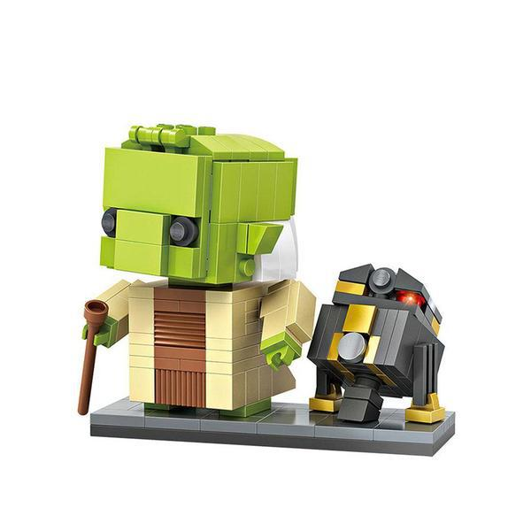 LOZ Brickheadz Yoda and R2-Q5
