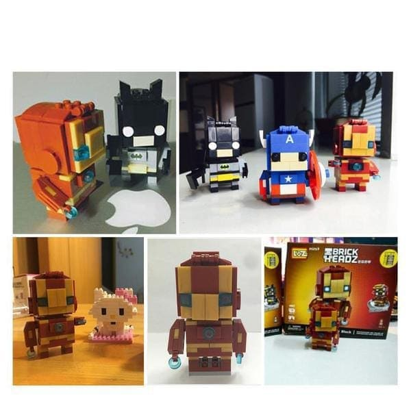 LOZ Brickheadz Iron Man